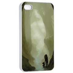 Fearless Apple Iphone 4/4s Seamless Case (white) by RachelIsaacs