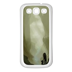 Fearless Samsung Galaxy S3 Back Case (white) by RachelIsaacs