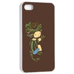Charlie Apple Iphone 4/4s Seamless Case (white) by RachelIsaacs