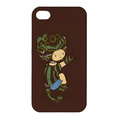 Charlie Apple Iphone 4/4s Premium Hardshell Case by RachelIsaacs