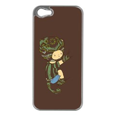 Charlie Apple Iphone 5 Case (silver) by RachelIsaacs