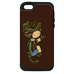Charlie Apple Iphone 5 Hardshell Case (pc+silicone) by RachelIsaacs