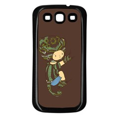 Charlie Samsung Galaxy S3 Back Case (black) by RachelIsaacs