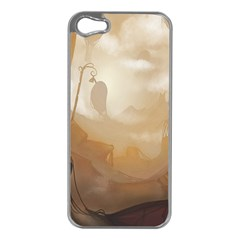Storm Apple Iphone 5 Case (silver) by RachelIsaacs