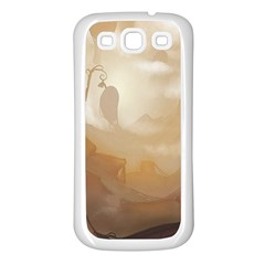 Storm Samsung Galaxy S3 Back Case (white) by RachelIsaacs