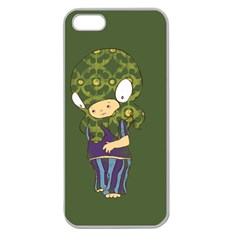 Octavio Apple Seamless Iphone 5 Case (clear) by RachelIsaacs