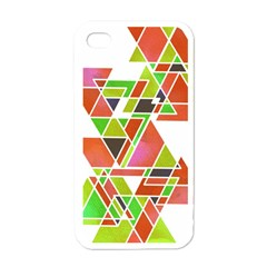Trianglez Apple Iphone 4 Case (white) by ILANA