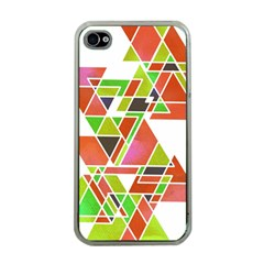 Trianglez Apple Iphone 4 Case (clear) by ILANA