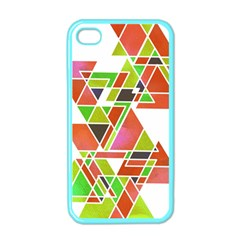 Trianglez Apple Iphone 4 Case (color) by ILANA