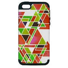 Trianglez Apple Iphone 5 Hardshell Case (pc+silicone) by ILANA