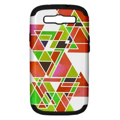 Trianglez Samsung Galaxy S Iii Hardshell Case (pc+silicone) by ILANA
