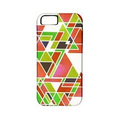 Trianglez Apple Iphone 5 Classic Hardshell Case (pc+silicone) by ILANA