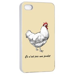 It s A Rooster  Apple Iphone 4/4s Seamless Case (white) by Contest1632283