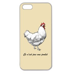 It s A Rooster  Apple Seamless Iphone 5 Case (clear) by Contest1632283