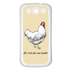 It s A Rooster  Samsung Galaxy S3 Back Case (white) by Contest1632283