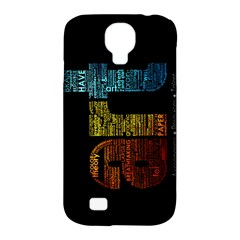 Art Samsung Galaxy S4 Classic Hardshell Case (pc+silicone)