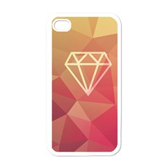 Diamond Apple Iphone 4 Case (white) by Contest1701949