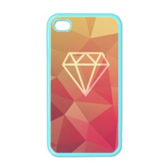 Diamond Apple Iphone 4 Case (color) by Contest1701949