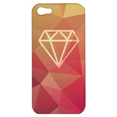 Diamond Apple Iphone 5 Hardshell Case by Contest1701949