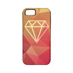 Diamond Apple Iphone 5 Classic Hardshell Case (pc+silicone) by Contest1701949