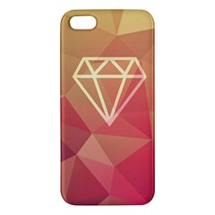 Diamond Iphone 5 Premium Hardshell Case by Contest1701949