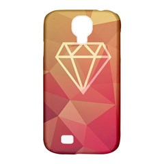 Diamond Samsung Galaxy S4 Classic Hardshell Case (pc+silicone) by Contest1701949