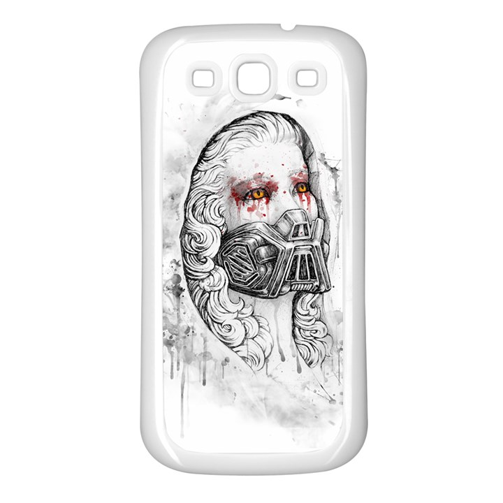 Apocalypse Samsung Galaxy S3 Back Case (White)