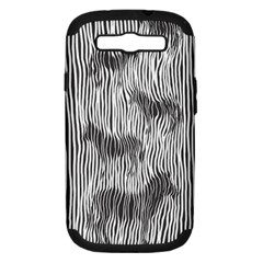 Where s The Zebra? Samsung Galaxy S Iii Hardshell Case (pc+silicone) by Contest1736674