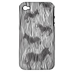 Where s The Zebra? Apple Iphone 4/4s Hardshell Case (pc+silicone)