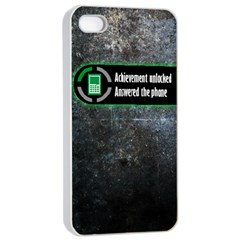 Achievement Unlocked Apple Iphone 4/4s Seamless Case (white)