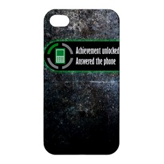 Achievement Unlocked Apple Iphone 4/4s Hardshell Case by Contest1775858