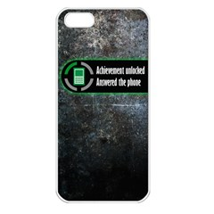 Achievement Unlocked Apple Iphone 5 Seamless Case (white)
