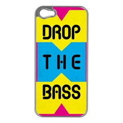 Drop The Bass Apple Iphone 5 Case (silver) by Contest1775858