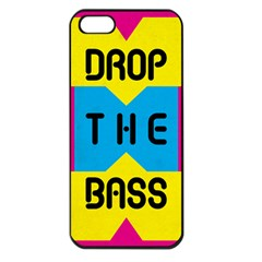 Drop The Bass Apple Iphone 5 Seamless Case (black) by Contest1775858