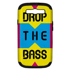Drop The Bass Samsung Galaxy S Iii Hardshell Case (pc+silicone)