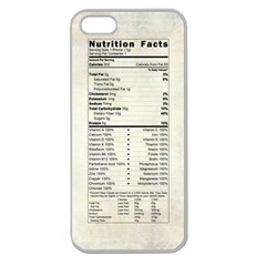 Phone Nutrition Apple Seamless Iphone 5 Case (clear)