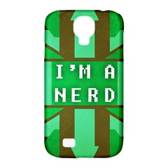 I m A Nerd Samsung Galaxy S4 Classic Hardshell Case (pc+silicone)