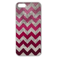 Chevron  Apple Seamless Iphone 5 Case (clear)