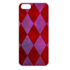 Diamond Tiles Apple Iphone 5 Seamless Case (white)