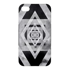 Geometric B&w Apple Iphone 4/4s Hardshell Case by Contest1775858