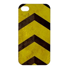 Caution Apple Iphone 4/4s Premium Hardshell Case