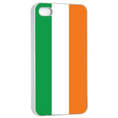 Irish Flag Apple Iphone 4/4s Seamless Case (white)