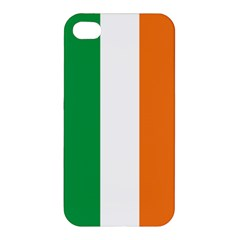 Irish Flag Apple Iphone 4/4s Premium Hardshell Case by ContestDesigns