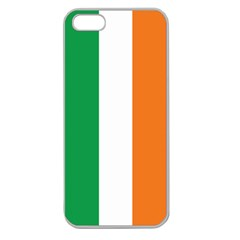 Irish Flag Apple Seamless Iphone 5 Case (clear)