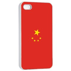 Chinese Flag Apple Iphone 4/4s Seamless Case (white) by ContestDesigns