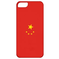 Chinese Flag Apple Iphone 5 Classic Hardshell Case