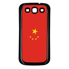 Chinese Flag Samsung Galaxy S3 Back Case (black)