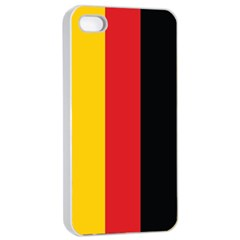 German Flag Apple Iphone 4/4s Seamless Case (white)