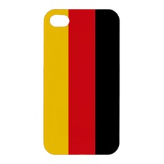 German Flag Apple Iphone 4/4s Hardshell Case by ContestDesigns