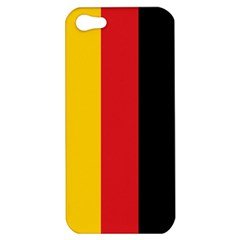 German Flag Apple Iphone 5 Hardshell Case by ContestDesigns